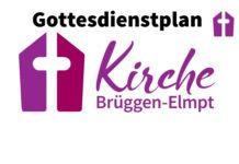 Gottesdienstplan