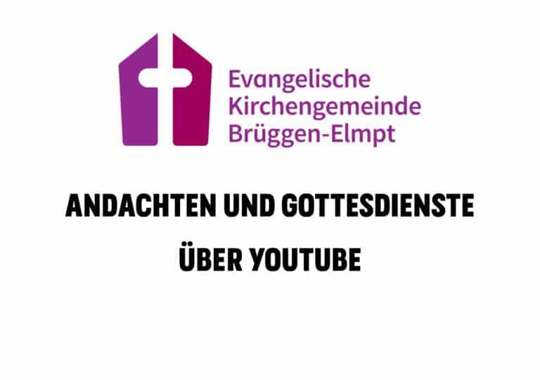 You-Tube-Gottesdienste und Andachten